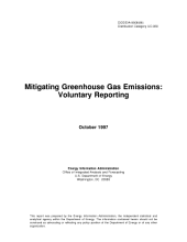 Mitigating Greenhouse Gas Emissions: Voluntary Reporting