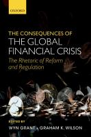 The Consequences of the Global Financial Crisis PDF