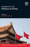 Handbook of the Politics of China PDF