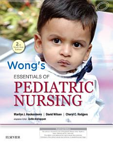 Wong s Essentials of Pediatric Nursing  Second South Asian Edition PDF