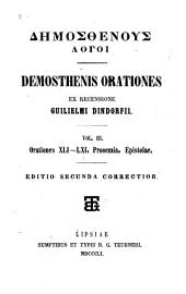 Demosthenis Orationes: Τόμος 3