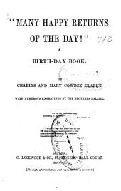 """Many happy returns of the day!"": a birth-day book"