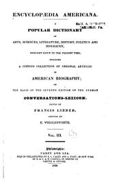 Encyclopædia americana: Volume 3