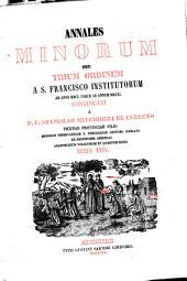 Annales Minorum seu Trium Ordinum a S. Francisco institutorum: Volume 24