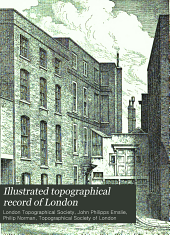 Illustrated topographical record of London: Issue 9