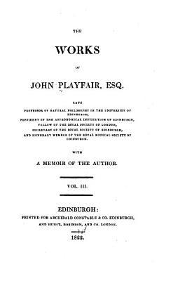 The Works of John Playfair     PDF