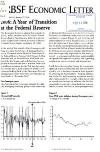 FRBSF Economic Letter