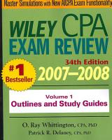Wiley CPA Examination Review 2007 2008  Outlines and Study Guides PDF