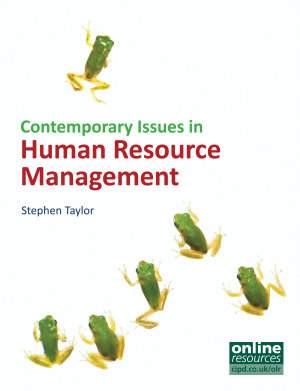 Contemporary Issues in Human Resource Management PDF