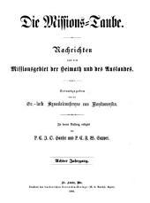 Missions-Taube: Volume 8