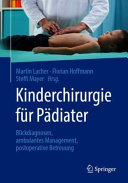 Kinderchirurgie f  r P  diater PDF