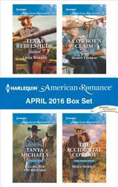 Harlequin American Romance April 2016 Box Set: An Anthology
