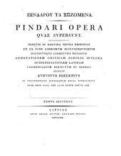 Opera quae supersunt: Τόμος 2,Τεύχος 1
