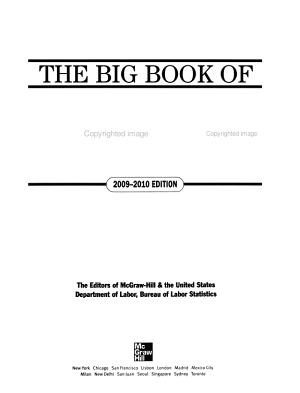 BIG BOOK OF JOBS  2009 2010 PDF