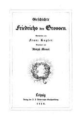 Geschichte Friedrichs des Grossen