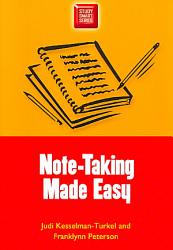 Note Taking Made Easy Book PDF