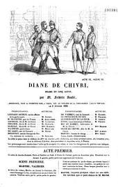 Diane de Chivri: drame en cinq actes