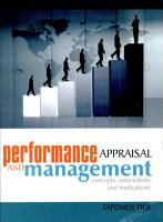 Performance Appraisal And Management PDF