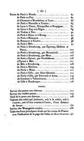 Atlas des routes de la France, ou guide des voyageurs dans toutes les parties du royaume