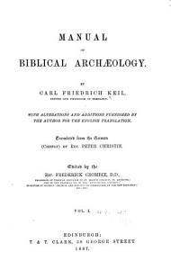 Manual of Biblical Archaeology PDF