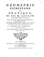 Géometrie élémentaire et pratique