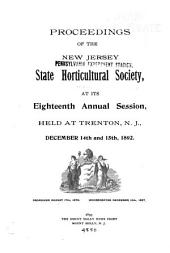 Proceedings of the State Horticultural Society at Its Annual Session