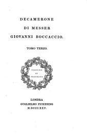 Decamerone Di Messer Giovanni Boccaccio: Volume 3