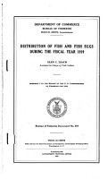 Distribution of Fish and Fish Eggs PDF