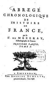 Abrége chronologique de l'histoire de France: Divisé en 6 tomes, Volume5