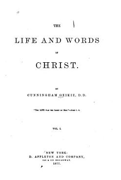 The life   words of Christ PDF