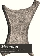 Memnon: Zeitschrift für die Kunst- und Kultur-Geschichte des alten Orients, Band 2
