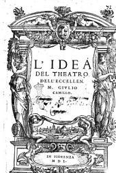 L'idea del theatro dell'eccellen. M. Giulio Camillo