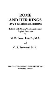 Rome and her kings: Livy I : graded selections