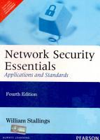 Network Security Essentials  Applications and Standards  4 e PDF
