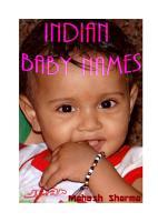 INDIAN BABY NAMES PDF