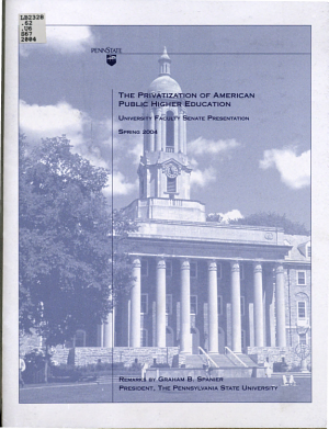 The Privatization of American Public Higher Education PDF