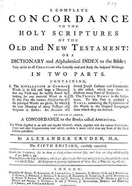 Download A Complete Concordance to the Holy Scriptures of the Old and New Testament Book