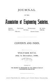 Journal of the Association of Engineering Societies: Volume 17