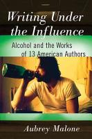 Writing Under the Influence PDF