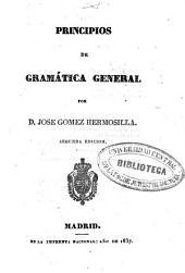 Principios de gramática general