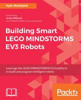 Building Smart LEGO MINDSTORMS EV3 Robots PDF