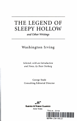 The Legend of Sleepy Hollow and Other Writings PDF