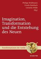 Imagination  Transformation und die Entstehung des Neuen PDF