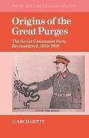 Origins of the Great Purges PDF