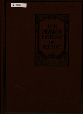 The universal library of music: Instrumental