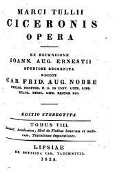 Opera /Cicero, Marcus Tullius