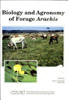 Biology and Agronomy of Forage Arachis PDF
