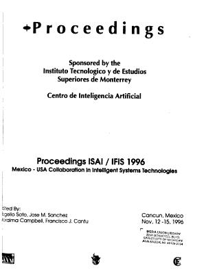 Proceedings ISAI IFIS     PDF