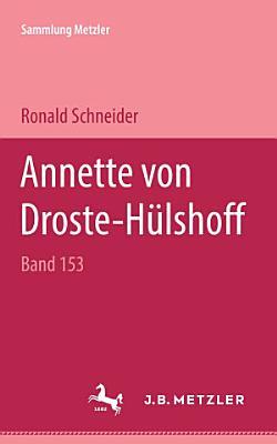 Annette von Droste H  lshoff PDF