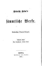Heinrich Heine's Sämmtliche werke: Bände 7-8
